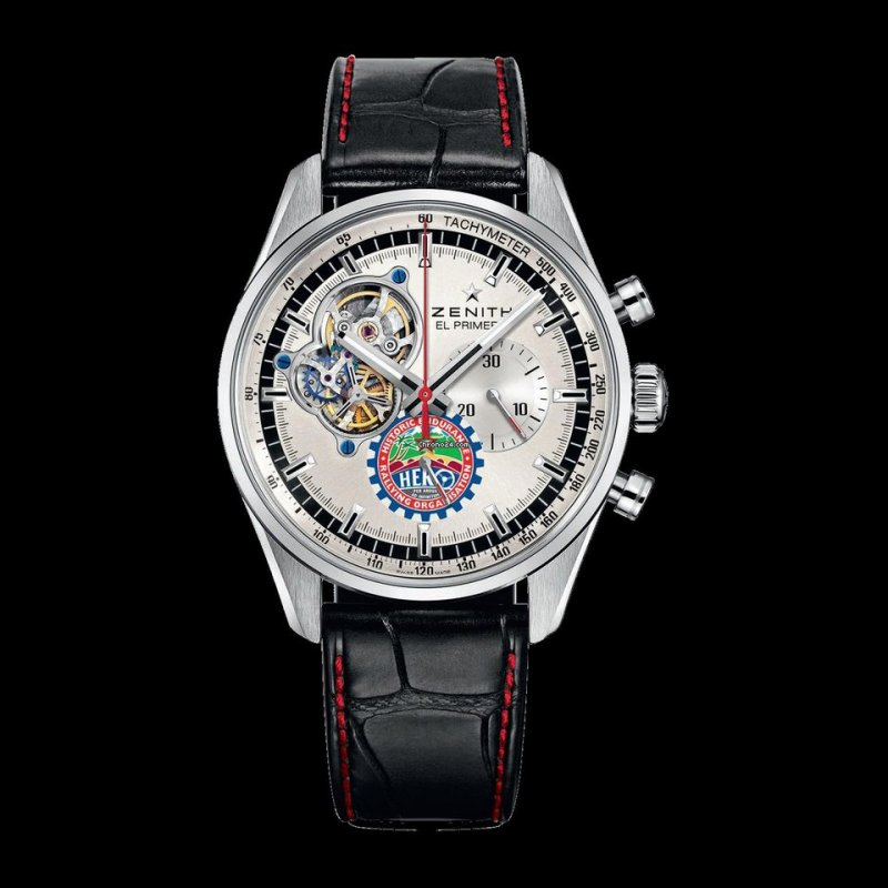 ZENITH [NEW] [LIMITED 100] PRIMERO CHRONOMASTER 1969 HERO CUP EDITION 03.20410.4061/07.C772 (Retail:EUR 9300)