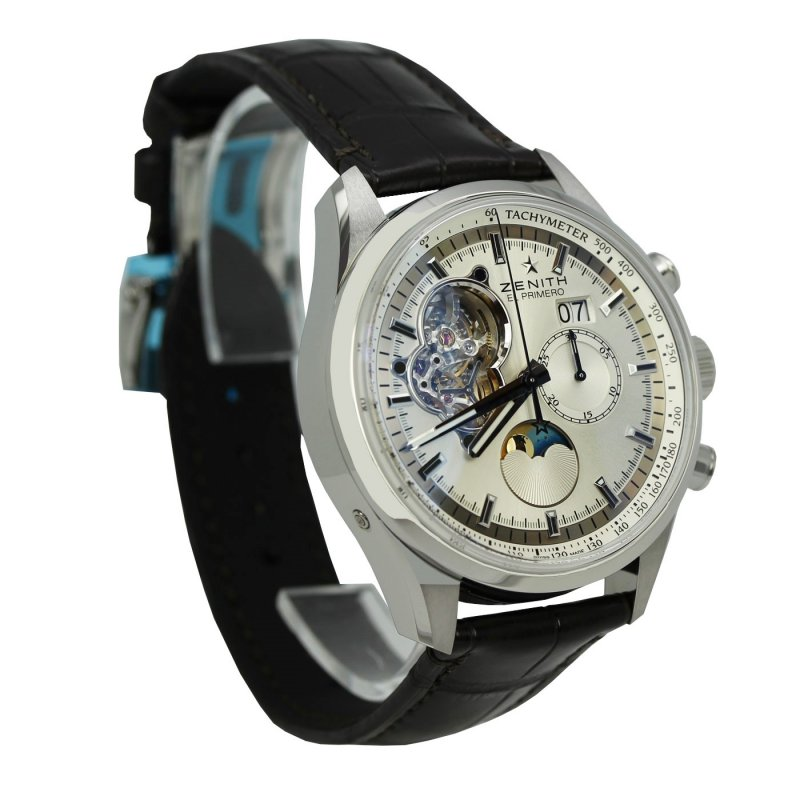Zenith [NEW] El Primero Chronomaster Open Grande Date 03.2160.4047/01.C713 (Retail:US$11,790)