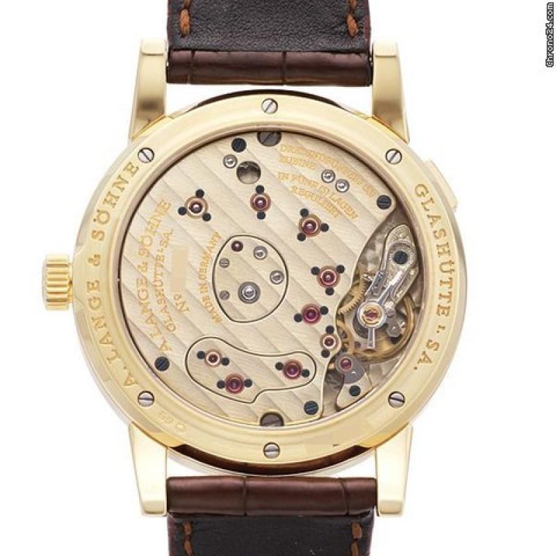 A. Lange & Sohne [NEW] Lange 1 38.5mm Yellow Gold 101.021 (Retail:US$34,700)