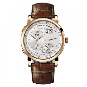 A Lange and Sohne 全新 116.032 Lange 1 Time Zone 41.9mm Mens Watch
