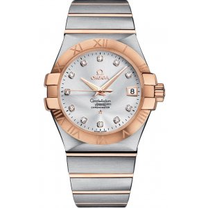 Omega [NEW] Constellation Co-Axial Automatic 35mm 123.20.35.20.52.001 (Retail:HK$62,200)
