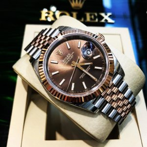 Rolex [NEW] Datejust II 41mm Mens 126331 Chocolate Dial Jubilee (Retail:HK$96,000)