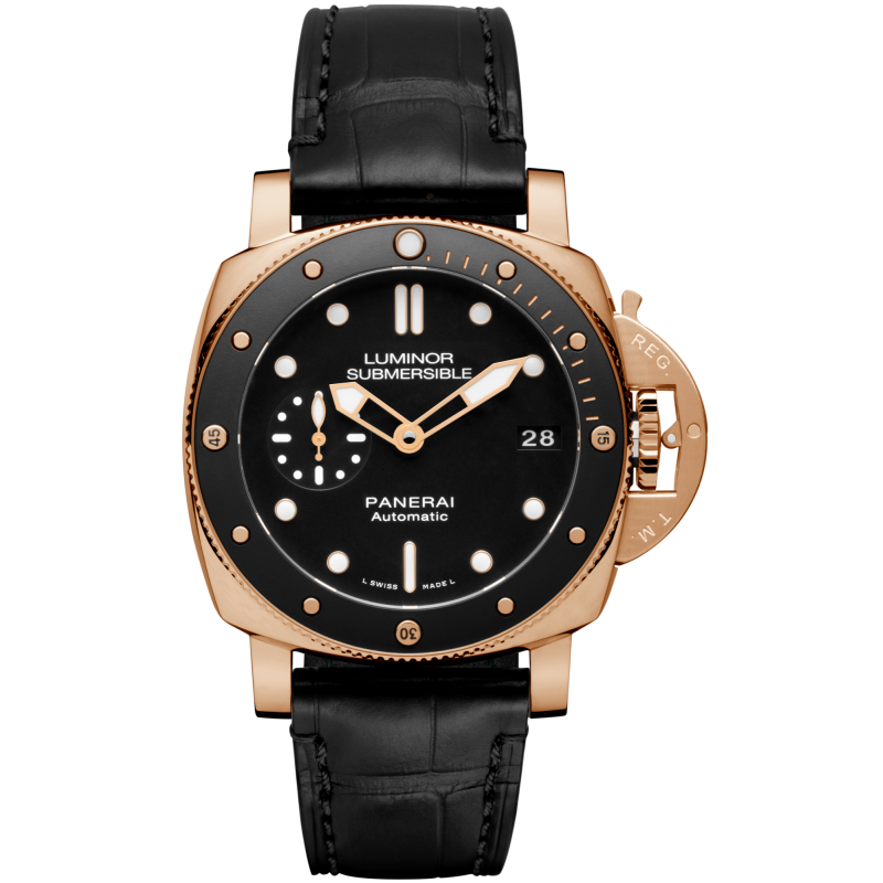Panerai [NEW] PAM 684 Luminor Submersible 1950 3 Days Automatic Rose Gold