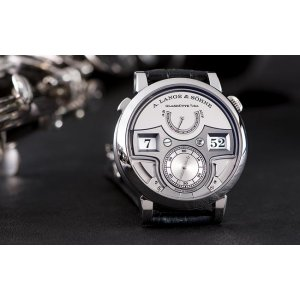 A. Lange & Sohne [NEW] Lange Zeitwerk Minute Repeater 147.025F (Retail:EUR 443.700)