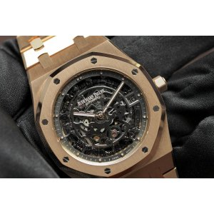 Audemars Piguet [NEW] Royal Oak Openworked Extra-Thin (Retail:HK$674,000)