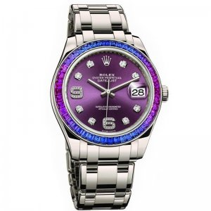 ROLEX [NEW] OYSTER PERPETUAL DATEJUST PEARLMASTER 39mm LADIES 86349SAFUBL