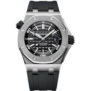 Audemars Piguet [NEW] Royal Oak Offshore Diver 15710ST.OO.A002CA.01 Black Dial (Retail:HK$149,000)