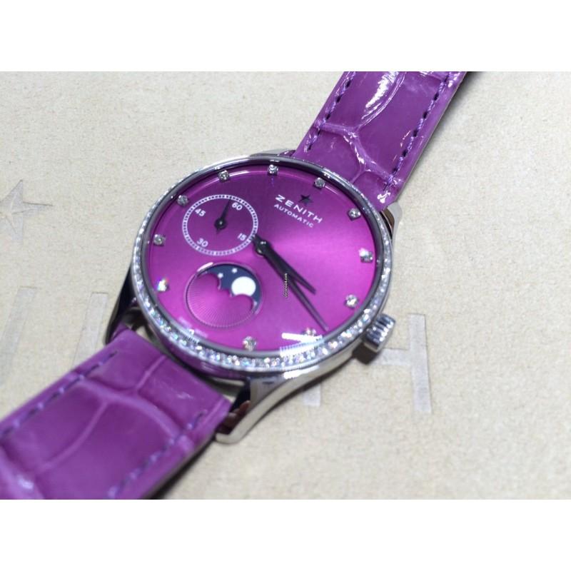 Zenith [NEW] Elite Ultra Thin Lady Moonphase 16.2310.692/92.C750 (Retail:HK$58,200)