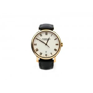 Chopard 全新 161278-5005 CLASSIC 18-CARAT ROSE GOLD LEATHER MEN'S WATCH