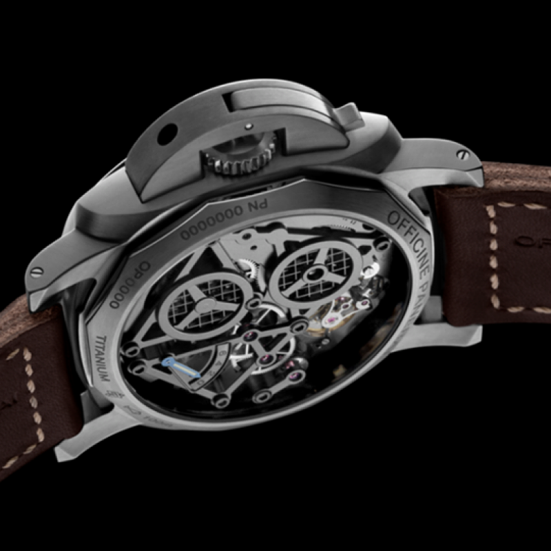 Panerai [LIMITED 150] ^ [NEW] PAM 578 LUMINOR 1950 TOURBILLON GMT TITANIO WATCH