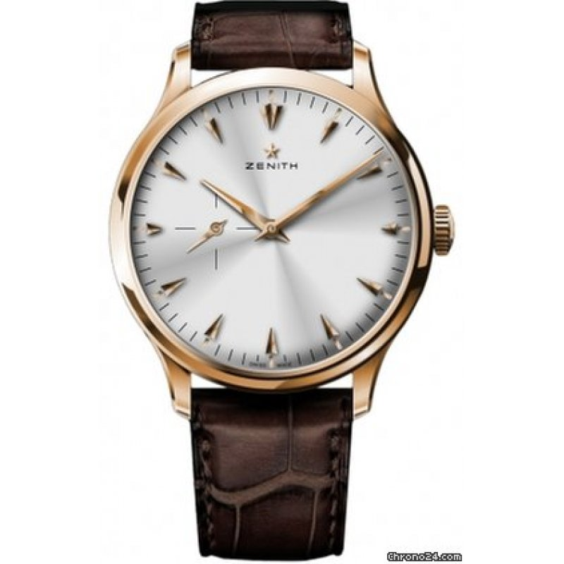Zenith [NEW] Heritage Ultra Thin Small Seconds 18.2010.681/01.C498