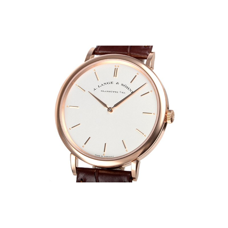 A Lange and Sohne 全新 211.032 Saxonia Thin Manual Wind 40mm Mens Watch