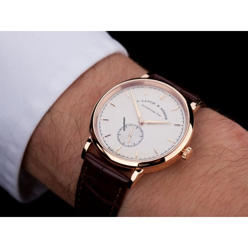 A. Lange & Sohne [NEW-OLD-STOCK] Saxonia Manual Wind 37mm 216.021 (Retail:HK$148,000)