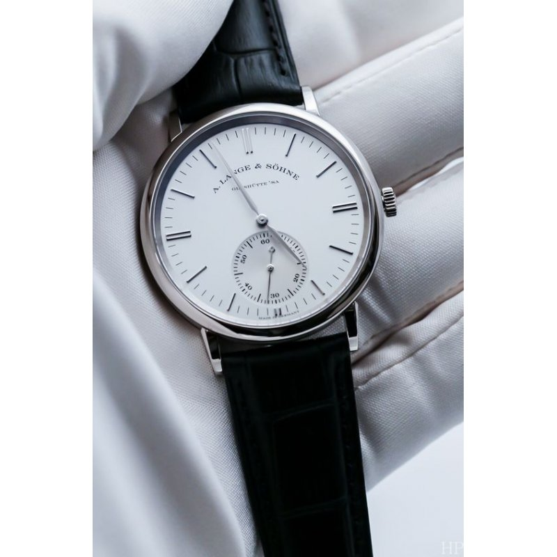 A. Lange & Söhne [NEW] Saxonia Manual Wind 35mm Midsize Watch 219.026 (Retail:EUR 15000)