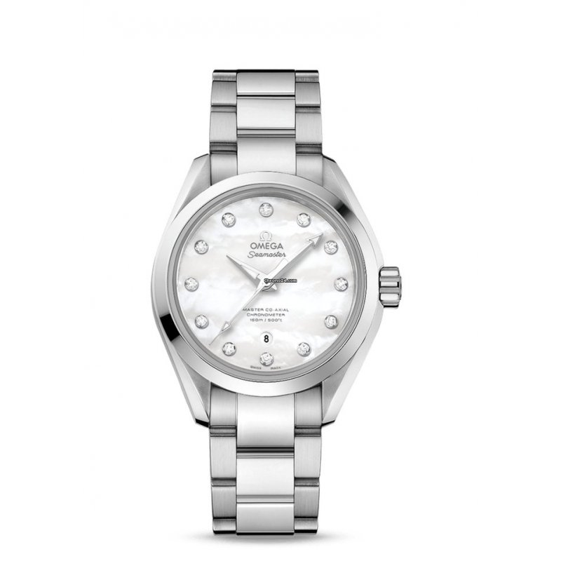Omega [NEW] Ladies Seamaster Aqua Terra 231.10.34.20.55.002 (Retail:HK$55,800)