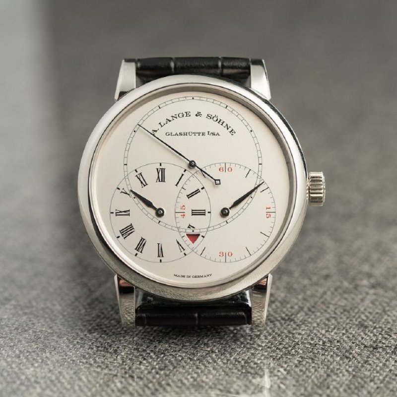 A. Lange & Söhne [NEW][LIMITED 100] Richard Lange Jumping Seconds 252.025 (Retail:EUR 78.700)