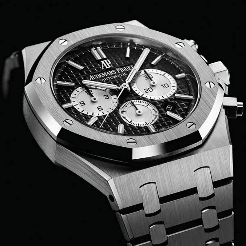 Audemars Piguet [2017 SIHH MODEL] Royal Oak Chronograph Black Dial 26331ST.OO.1220ST.02 (Retail:HK$190,000)
