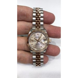 Rolex [NEW] Datejust 28mm 279171-G17.ix-63341 Pink Dial IX Diamond Jubilee Ladies
