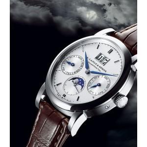 A. Lange & Sohne [NEW] Saxonia Annual Calendar 330.026E (Retail:EUR 44.500)