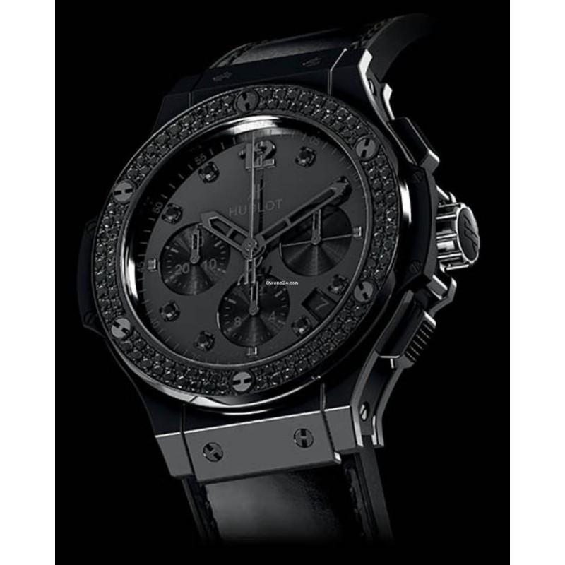 Hublot [全新] 341.CX.1210.VR.1100 Big Bang All Black 41mm  (Retail:CHF$18,900)