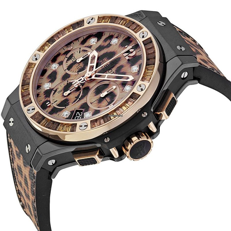 Hublot [全新] 341.cp.7610.nr.1976 Big Bang Chrono Leopard Unisex (Retail:CHF$27,900)