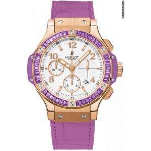Hublot [NEW] Big Bang Gold Tutti Frutti 41mm Ladies 341.pv.2010.lr.1905 (Retail:HK$328,300)