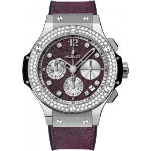 Hublot [NEW][LIMITED 250] Big Bang Purple Jeans Diamonds 341.SX.2790.NR.1104.JEANS14 (Retail:EUR 17000)