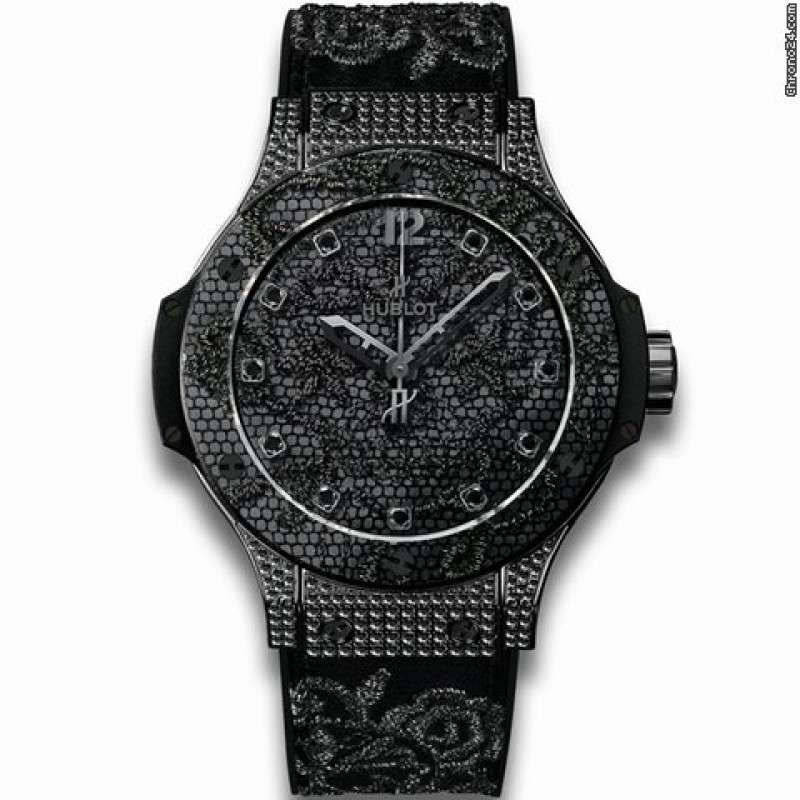 Hublot [全新] [限量200支] 343.SV.6510.NR.0800 Big Bang Broderie All Black (Retail:CHF 17,900)