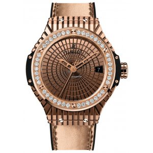 Hublot [NEW] Big Bang Gold Caviar Diamonds 346.PX.0880.VR.1204 (Retail:EUR 35200)
