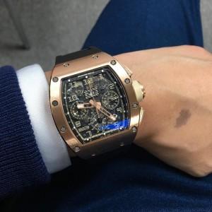 Richard Mille [2013 USED] RM 011 IVORY Felipe Massa Automatic Watch