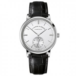 A. Lange & Söhne [NEW] Saxonia Silver Dial 18K White Gold Automatic Men's Watch 380.027 (Retail:EUR 23000)