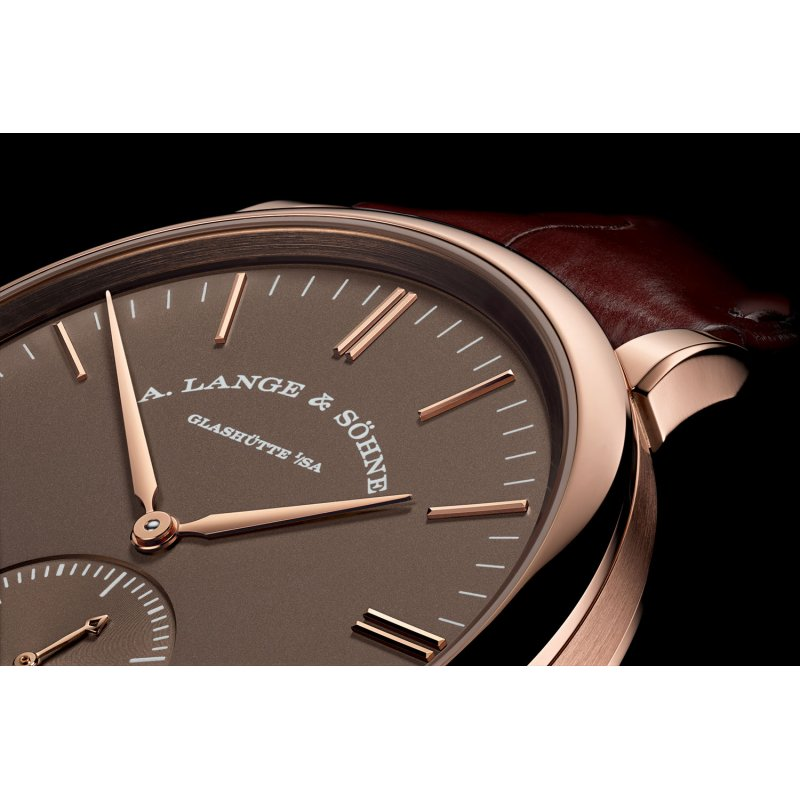 A Lange and Sohne [全新] 380.042 Saxonia Automatic Watch (Retail:EUR23,000)