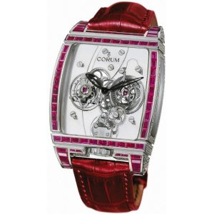 Corum [NEW] 382.856.69/0F86 0000 Tourbillon Panoramique 38x53mm Watch (Retail:HK$3,030,000)