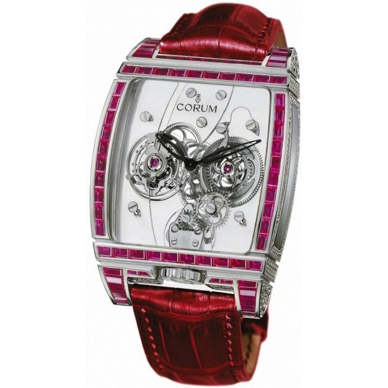 Corum [NEW] 382.856.69/0F86 0000 Tourbillon Panoramique 38x53mm Watch (Retail:HK$3,030,000)