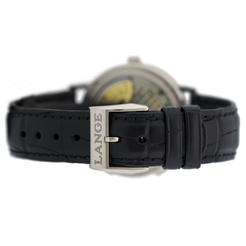 A. Lange & Sohne [全新] 386.026 Saxonia Dual Time 38.5mm Mens Watch (Retail:EUR 27.300)