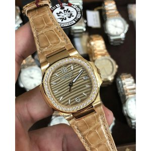 Patek Philippe [NEW] Ladies Nautilus 7010R-012 RG (Retail:HK$236,800)