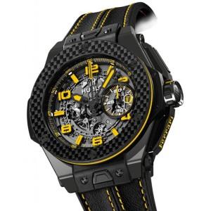Hublot [全新][限量1000支] 401.CQ.0129.VR Big Bang Ferrari 45mm  (Retail:US$29,800)