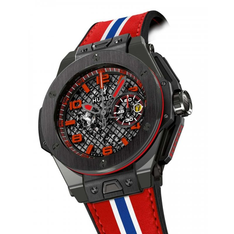 Hublot [NEW] Big Bang Ferrari Speciale Ceramic 45mm LTD (Retail:HK$228,000)