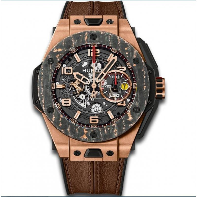Hublot [NEW][LTD 500] Big Bang Ferrari Carbon 401.OJ.0123.VR (Retail:EUR 39.400)