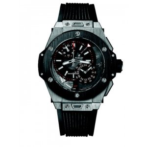 HUBLOT [全新] [限量250支] 403.NM.0123.RX  Big Bang Alarm Repeater Black Dial GMT Limited (Retail:CHF$39,000)