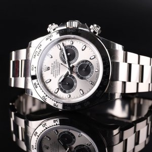 Rolex [NEW] Cosmograph Daytona White Gold 116509-0072 Silver Panda
