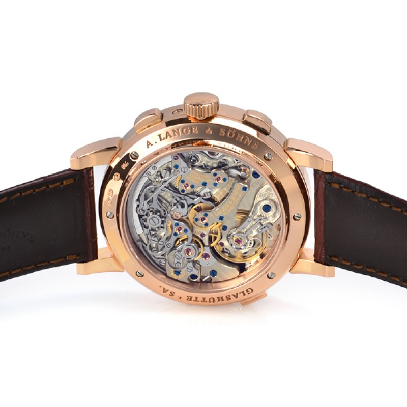 A Lange and Sohne 全新 410.032 E Datograph Perpetual 41mm Mens Watch