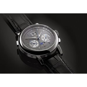 A. Lange & Söhne [NEW] Datograph Perpetual Grey Dial White Gold 410.038E (Retail:EUR 120.000)