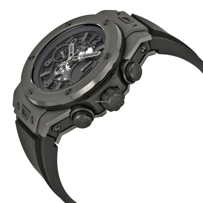 Hublot [NEW] Big Bang UNICO All Black Limited Ed 500 PCs 411.CI.1110.RX