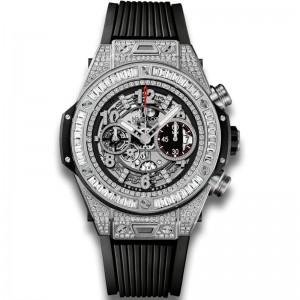 Hublot [NEW] Big Bang Unico Titanium Jewellery 411.NX.1170.RX.0904 (Retail:HK$532,300)