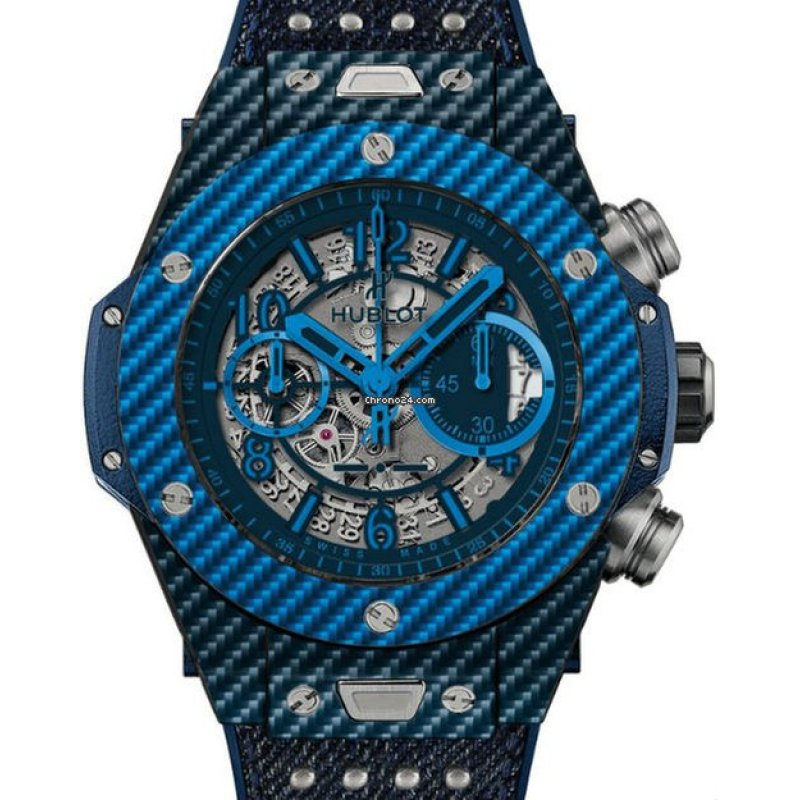 Hublot [NEW] Big Bang Unico Italia Independent Texalium 411.YL.5190.NR.ITI15