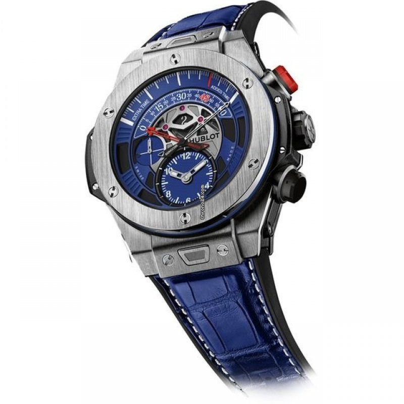 Hublot [NEW] Big Bang Unico Bi-Retrograde Chrono Paris Saint-Germain Limited (Retail:HK$210,000)