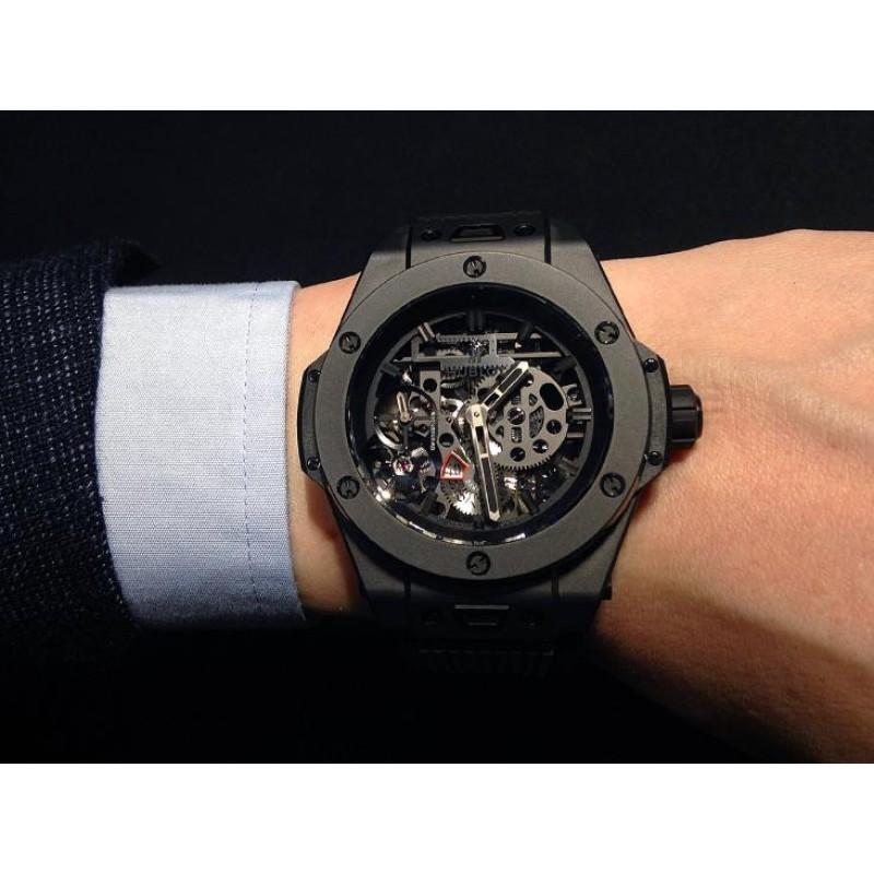 Hublot [NEW][LIMITED 500][全新限量500支] Big Bang Meca-10 All-Black 414.CI.1110.RX (Retail:US$22,000)