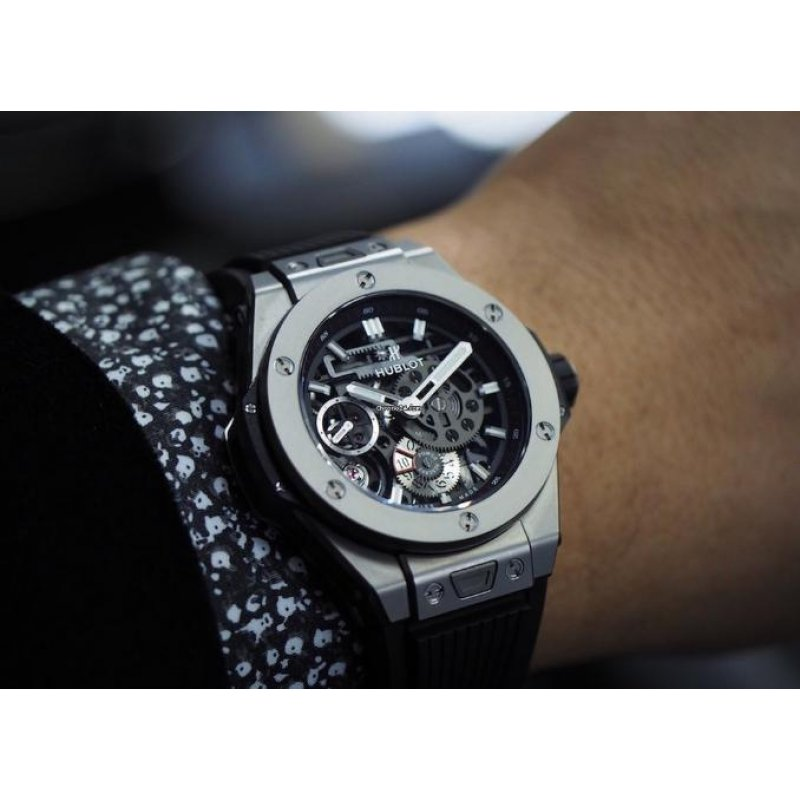 Hublot [NEW][LIMITED 500][全新限量500支] Big Bang Meca-10 Titanium 414.NI.1123.RX (Retail:US$19,900)