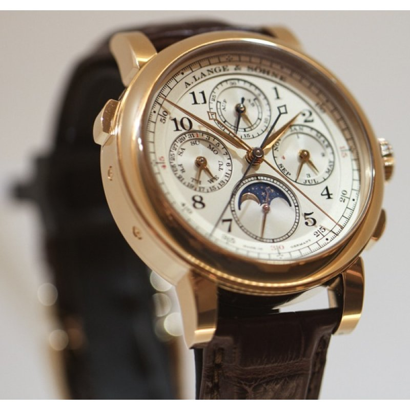 A. Lange & Sohne [NEW] 421.032FE 1815 Rattrapante Perpetual Calender (Retail:EUR204.900)